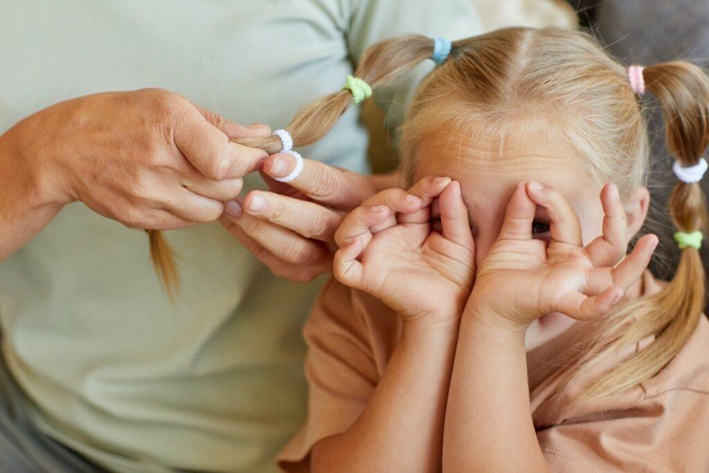 teste de síndrome de asperger - menina com sindrome de down